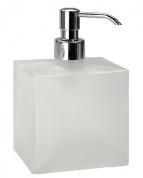 Подробнее о Дозатор жидкого мыла Bemeta Plaza 118109042 настольный хром/стекло матовое
