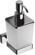 Подробнее о Дозатор жидкого мыла Bemeta Plaza 118209049 подвесной хром/стекло матовое