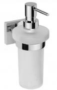 Подробнее о Дозатор для жидкого мыла Bemeta Beta 132109017a хром/стекло матовое
