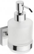 Подробнее о Дозатор для жидкого мыла Bemeta Beta 132109102 хром/стекло матовое