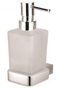 Подробнее о Дозатор для жидкого мыла Bemeta Via 135009042 хром/стекло матовое