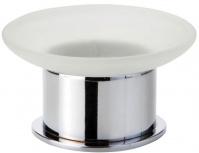 Подробнее о Мыльница Bemeta Omega 138108191 настольная хром/стекло матовое