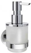 Подробнее о Дозатор Bemeta Omega 138709041 подвесной хром/стекло матовое