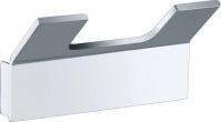 Подробнее о Крючок для полотенец Bemeta Solo 139106032 двойной хром