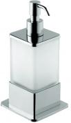 Подробнее о Дозатор жидкого мыла Bemeta Plaza 140109161 настольный хром/стекло матовое