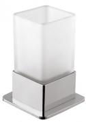 Подробнее о Стакан Bemeta Plaza 140110061 настольный хром/стекло матовое