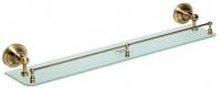 Подробнее о Полка Bemeta Retro Bronze 144102267 стеклянная 60 см бронза/стекло матовое
