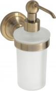 Подробнее о Дозатор жидкого мыла Bemeta Retro Bronze 144109017 бронза/стекло матовое