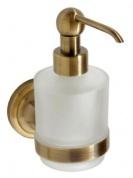 Подробнее о Дозатор жидкого мыла Bemeta Retro Bronze 144109107 бронза/стекло матовое