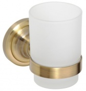 Подробнее о Стакан Bemeta Retro Bronze 144110017 бронза/стекло матовое
