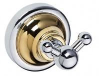 Подробнее о Крючок Bemeta Retro Gold and Сhrom 144206038 двойной хром/золото