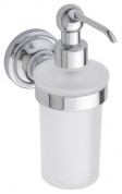 Подробнее о Дозатор жидкого мыла Bemeta Retro Chrom 144309012 хром/стекло матовое