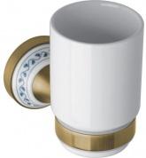 Подробнее о Стакан Bemeta Kera 144710017 бронза/керамика белая