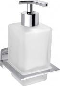 Подробнее о Дозатор для жидкого мыла Bemeta Niki 153209049 хром/стекло матовое