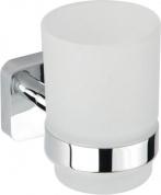 Подробнее о Стакан Bemeta Tasi 154110012 подвесной хром/стекло матовое