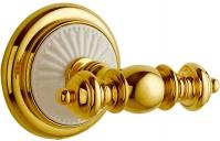 Подробнее о Крючок Boheme Palazzo Blanco 10106 двойной золото / керамика белая
