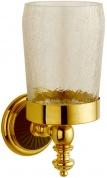 Подробнее о Стакан Boheme Palazzo Nero 10154 настенный золото /стекло кракле / керамика черная