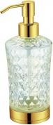 Подробнее о Дозатор жидкого мыла Boheme Royal Crystal 10222 настольный золото / хрусталь