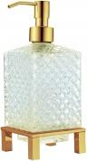 Подробнее о Дозатор жидкого мыла Boheme Royal Crystal 10225 настольный золото / хрусталь