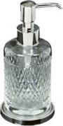 Подробнее о Дозатор для мыла Boheme Luxury Options 10227 настольный хром / хрусталь