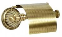 Подробнее о Держатель туалетной бумаги Boheme Hermitage Bronze 10320 с крышкой бронза
