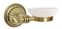 Подробнее о Мыльница  Boheme Hermitage Bronze 10322 настенная бронза / керамика белая