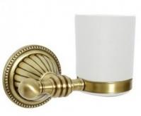 Подробнее о Стакан Boheme Hermitage Bronze 10323 настенный бронза / керамика белая