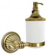 Подробнее о Дозатор мыла Boheme Hermitage Bronze 10337 настенный бронза / керамика белая