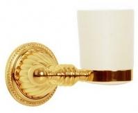 Подробнее о Стакан Boheme Hermitage Gold 10353 настенный золото / керамика белая