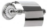 Подробнее о Держатель туалетной бумаги Boheme Hermitage Chrome 10380 с крышкой хром