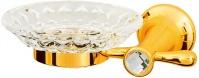 Подробнее о Мыльница Boheme Chiaro 10503 настенная  золото / Swarovski / хрусталь