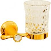 Подробнее о Стакан Boheme Chiaro 10504 настенный золото / Swarovski / хрусталь