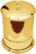 Подробнее о Ведро Boheme Chiaro  10508 напольное  золото / Swarovski