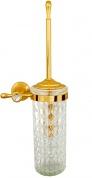 Подробнее о Ерш для туалета Boheme Chiaro 10514 настенный золото / Swarovski / хрусталь