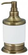 Подробнее о Дозатор для мыла Boheme Medici 10610 настольный бронза / стекло