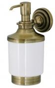 Подробнее о Дозатор для мыла Boheme Medici  10617 настенный бронза / стекло