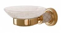 Подробнее о Мыльница Boheme Murano 10903 CR настенная  хром  / стекло прозрачное