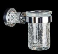 Подробнее о Стакан Boheme Murano Crystal 10904-CRST-CH настенный хром / хрусталь