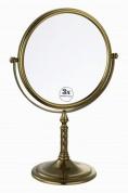 Подробнее о Зеркало косметическое Boheme Medici 502 настольное с подсветкой (3Х) бронза