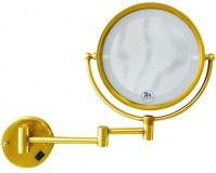 Подробнее о Зеркало косметическое Boheme Imperiale 503 настенное с подсветкой (3Х) золото