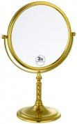 Подробнее о Зеркало косметическое Boheme Imperiale 504 настольное с подсветкой (3Х) золото