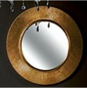 Подробнее о Зеркало Boheme Shine 528-G настенное диаметр 82 см золото