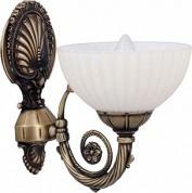 Подробнее о Светильник Boheme 751 настенный бронза/стекло