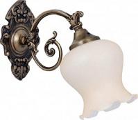 Подробнее о Светильник Boheme 752 настенный бронза/стекло