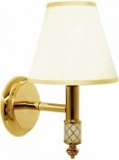 Подробнее о Светильник Boheme Murano 764 настенный золото/текстиль белый