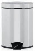 Подробнее о Ведро мусорное Brabantia 246920 с педалью (5 литров Brilliant Steel (сталь полированная