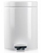 Подробнее о Ведро мусорное Brabantia 283420 с педалью (5 литров White (белый