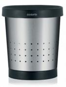 Подробнее о Корзина Brabantia 364303 для бумаг (5 литров Matt Steel (сталь матовая