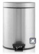 Подробнее о Ведро мусорное Brabantia 369544 с педалью (5 литров Matt Steel Fingerprint Proof (сталь матовая с защитой от отпечатков пальцев