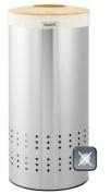 Подробнее о Бак для белья Brabantia 375286 (30 литров Matt Steel Fingerprint Proof (мат. сталь с защитой от отпечатков пальцев